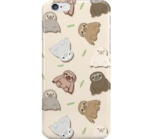 Sloths! iPhone Case/Skin