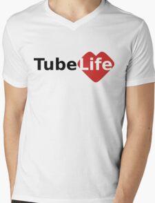 Tube Life Mens V-Neck T-Shirt