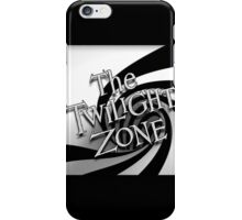 The Twilight Zone Spiral iPhone Case/Skin