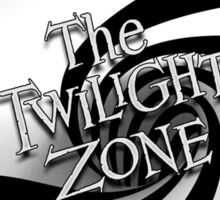 The Twilight Zone Spiral Sticker