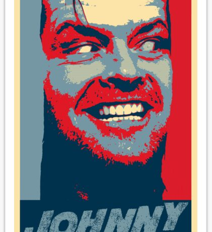 Here's Johnny!!!! Is there any Hope? Sticker