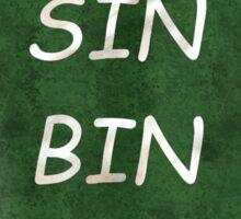 Sin Bin Sticker
