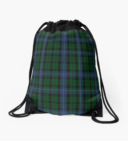 00092 MacIntyre Clan/Family Tartan  Drawstring Bag