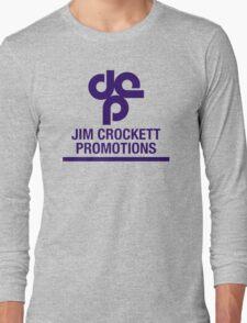 Jim Crockett Promotions Logo Long Sleeve T-Shirt