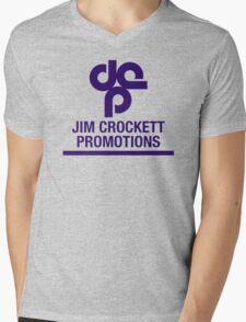 Jim Crockett Promotions Logo Mens V-Neck T-Shirt