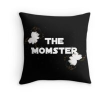 The Momster Throw Pillow