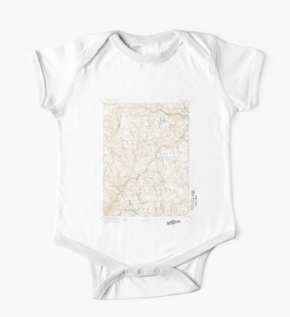 USGS TOPO Map Connecticut CT Gilead 331029 1892 62500 One Piece - Short Sleeve