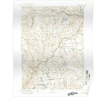 USGS TOPO Map Connecticut CT Gilead 331029 1892 62500 Poster