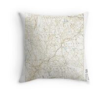 USGS TOPO Map Connecticut CT Gilead 331029 1892 62500 Throw Pillow