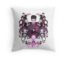 Block B Throw Pillow