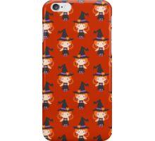 Cute Little Witch Girl Pattern iPhone Case/Skin