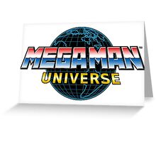 Mega Man Universe Logo Greeting Card