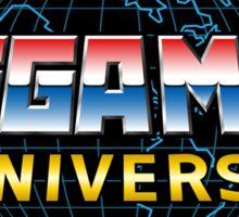 Mega Man Universe Logo Sticker