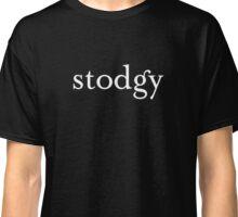 Stodgy (White) Classic T-Shirt