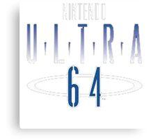 Nintendo Ultra 64 Logo Canvas Print