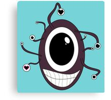 Cute Beholder - Dungeons and Dragons Canvas Print