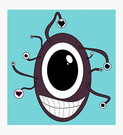 Cute Beholder - Dungeons and Dragons Photographic Print