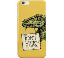 Mr. Raptor iPhone Case/Skin