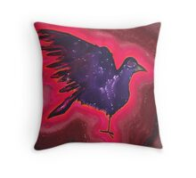 Baby Phoenix original painting Throw Pillow