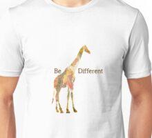 Be Different Giraffe Unisex T-Shirt