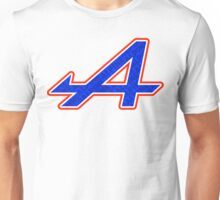 Alpine 'A' Fill Graphic Print Unisex T-Shirt