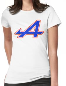 Alpine 'A' Fill Graphic Print Womens Fitted T-Shirt