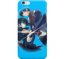 wave and kurome clashing blades iPhone Case/Skin