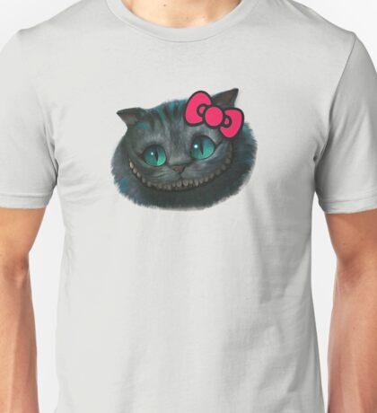 Hello Cheshire Kitty Unisex T-Shirt