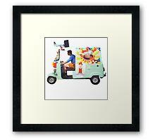 Potato Van Framed Print