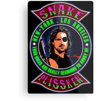 Snake Plissken Colour 2 Metal Print