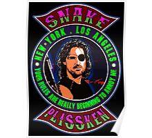 Snake Plissken Colour 2 Poster