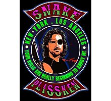 Snake Plissken Colour 2 Photographic Print