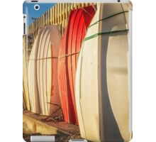 Strapped Boats, Ready for Summer Fun iPad Case/Skin