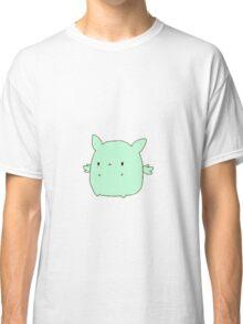 Kawaii Flying Mint Bunny Classic T-Shirt