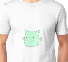 Kawaii Flying Mint Bunny Unisex T-Shirt