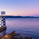 Point Halswell Lighthouse at Dusk, Wellington, NZ by SeeOneSoul