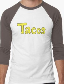 Tacos! Men's Baseball ¾ T-Shirt
