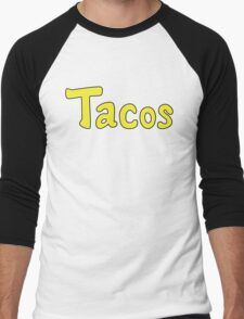 Tacos! Men's Baseball ¾ T-Shirt