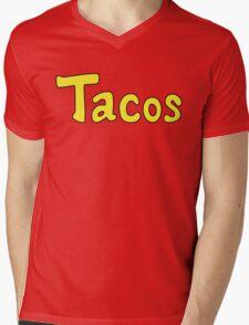 Tacos! Mens V-Neck T-Shirt