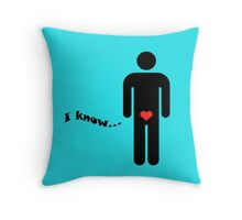 STAR WARS - I KNOW Throw Pillow