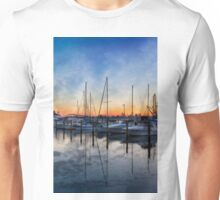 Boats at Sunset Unisex T-Shirt