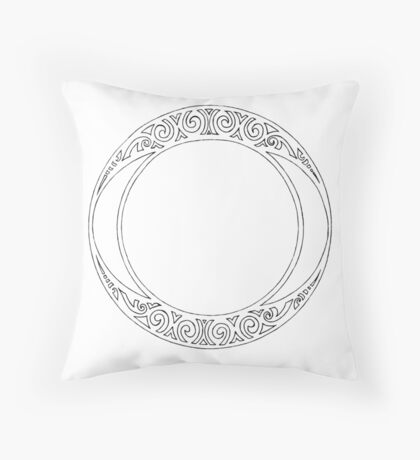 Rosace (One) Throw Pillow