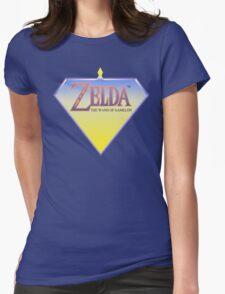 Zelda Wand of Gamelon Logo Womens Fitted T-Shirt