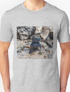Lizard in Blue Unisex T-Shirt