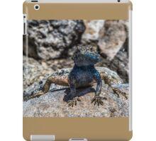 Lizard in Blue iPad Case/Skin