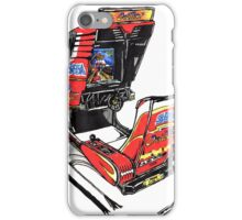 OutRun Cabinet iPhone Case/Skin