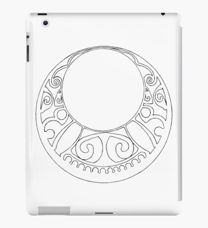 Rosace (Two) iPad Case/Skin