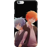 back to back AC anime iPhone Case/Skin