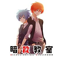 back to back AC anime Photographic Print