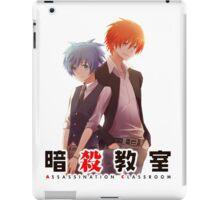 back to back AC anime iPad Case/Skin